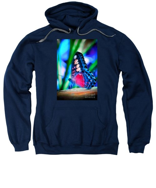 Butterfly Realistic Painting Sweatshirt