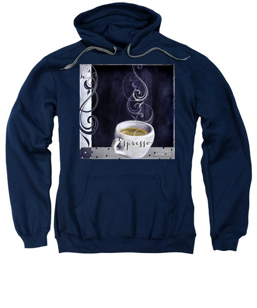 Cafe Blue Iv Sweatshirt