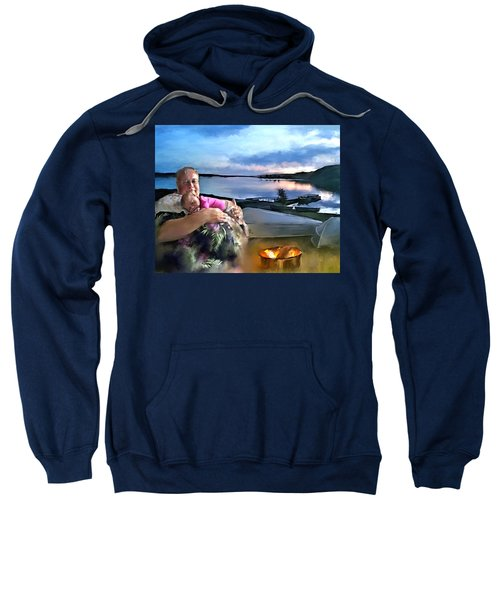 Camping With Grandpa Sweatshirt