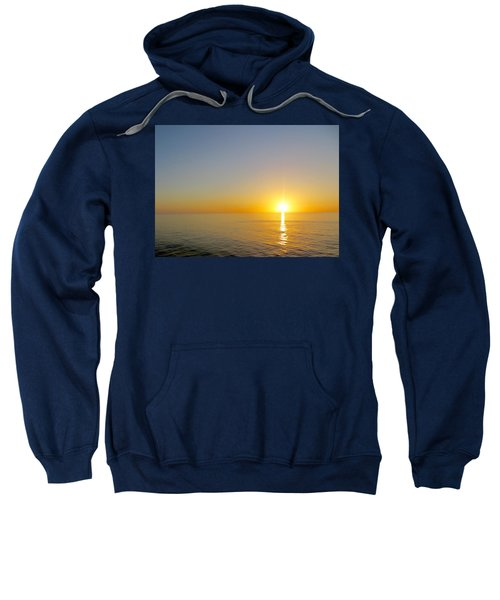 Caribbean Sunset Sweatshirt by Teresa Wing