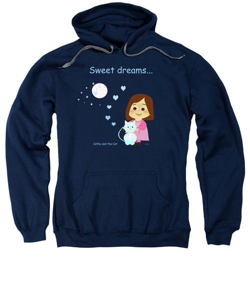Cathy And The Cat Sweet Dreams Sweatshirt