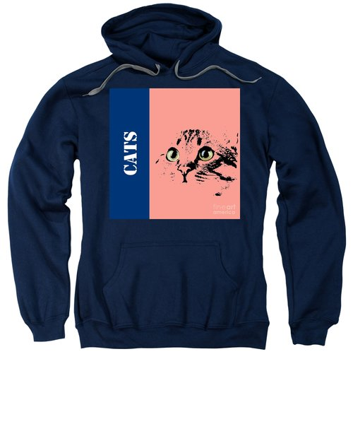 Cats Logo Sweatshirt