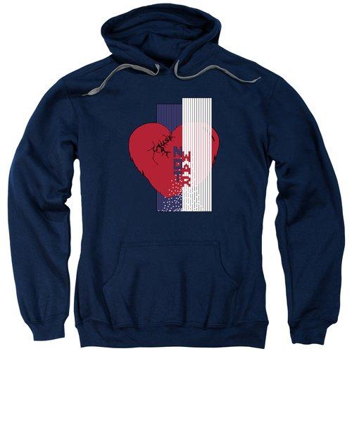 Cause Art Not War Transparent Sweatshirt