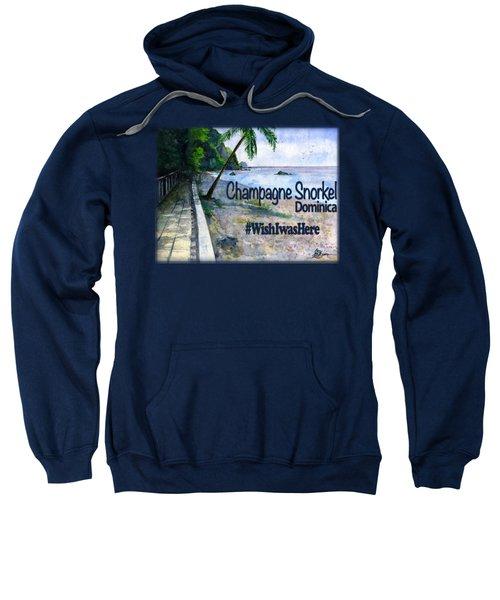 Champagne Snorkel Dominica Shirt Sweatshirt