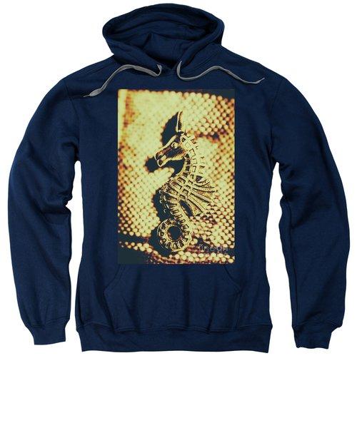 Charming Vintage Seahorse Sweatshirt