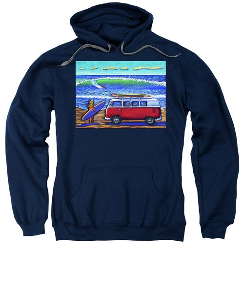 Checking Out The Waves Sweatshirt