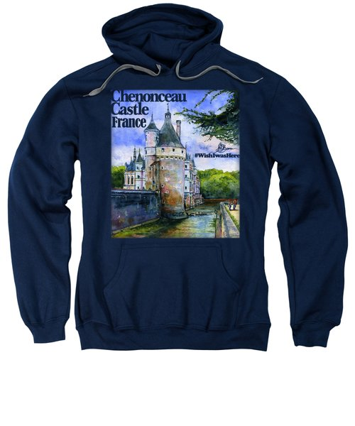 Chenonceau Castle Shirt Sweatshirt