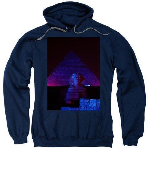 Cheops In Blue Sweatshirt