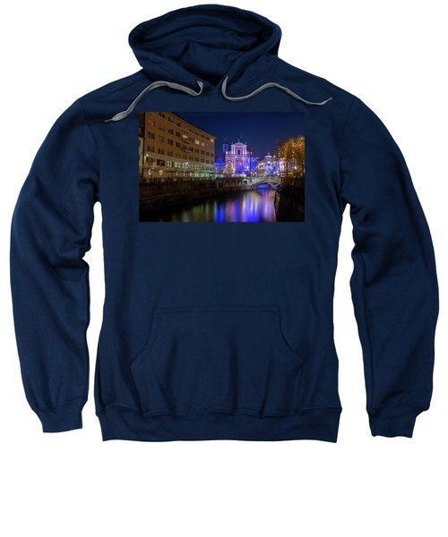 Christmas In Ljubljana Sweatshirt