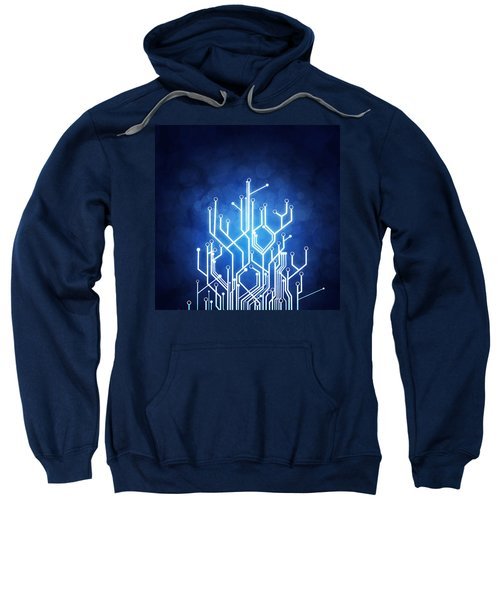 Circuit Board Technology Sweatshirt