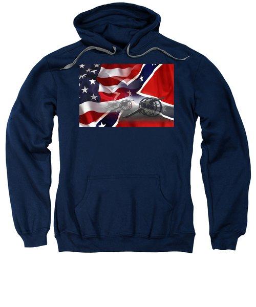 Civil War Silent Cannons Sweatshirt