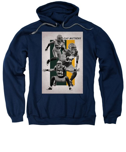 Clay Matthews Green Bay Packers Sweatshirt