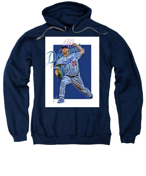 Clayton Kershaw Los Angeles Dodgers Oil Art Sweatshirt