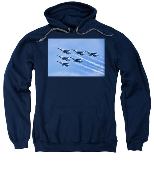 Cleveland National Air Show - Air Force Thunderbirds - 1 Sweatshirt
