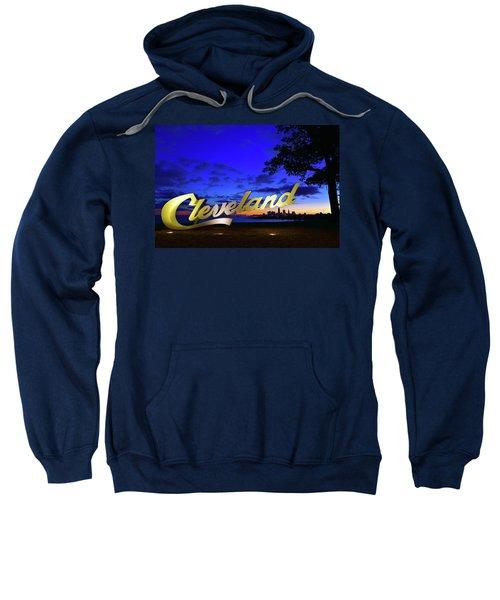 Cleveland Sign Sunrise Sweatshirt