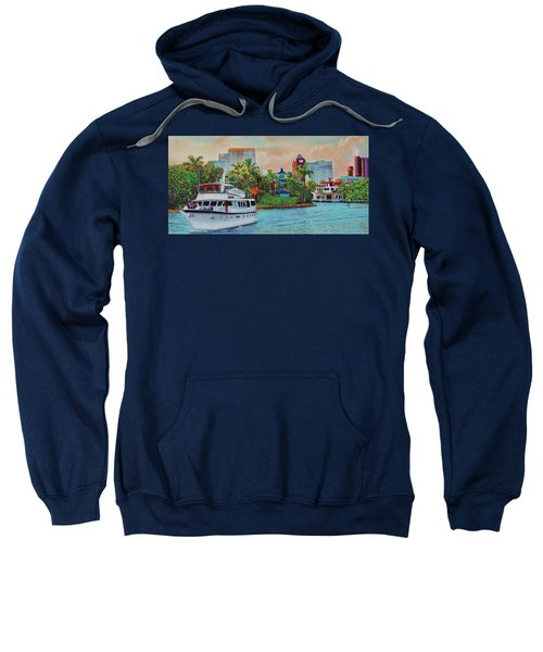 Cocktails On The New River Sweatshirt