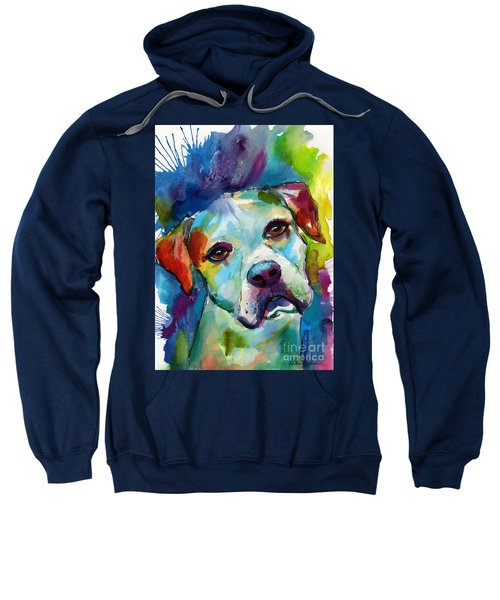 Colorful American Bulldog Dog Sweatshirt
