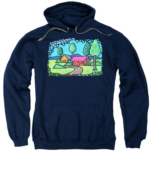 Houses And Trees Sweatshirt