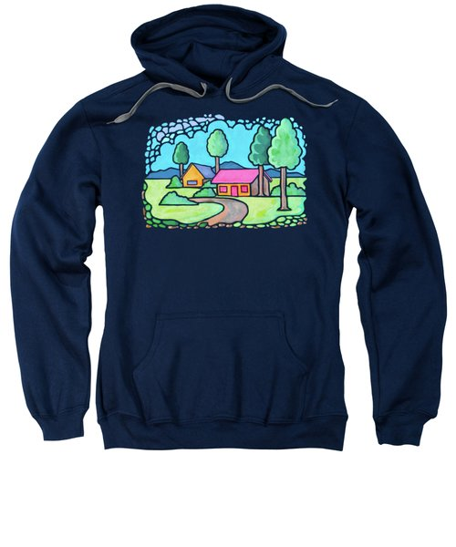 Houses And Trees Sweatshirt