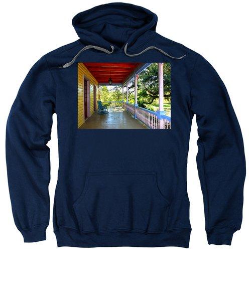 Colorful Creole Porch Sweatshirt