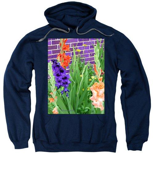 Colorful Gladiolas Sweatshirt