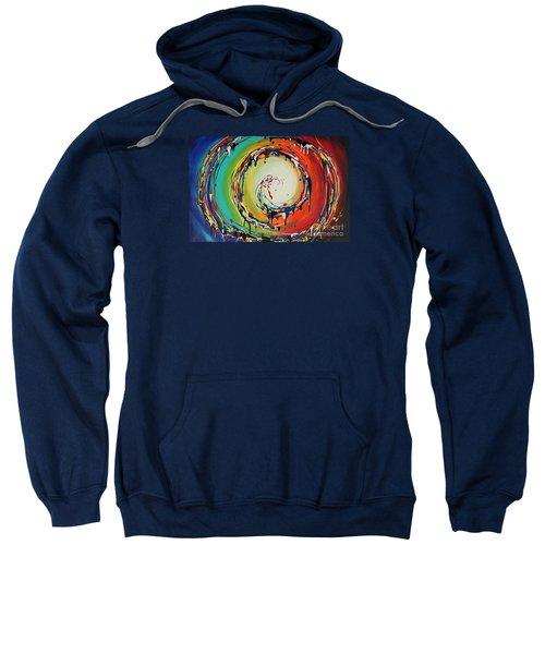 Colorful Swirls Sweatshirt