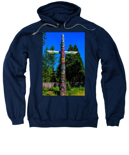 Colorful Totem Pole  Sweatshirt