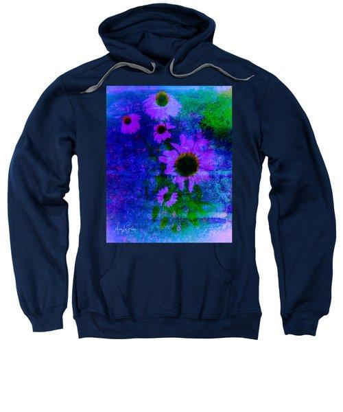 Coneflowers Abstract Sweatshirt