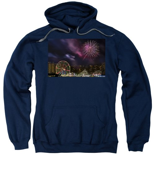 Coney Island Fireworks Sweatshirt