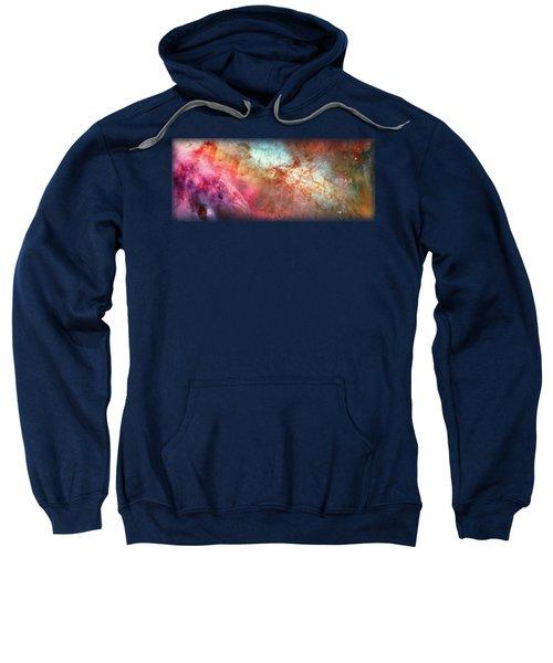 Cosmic Clouds Mug Art Sweatshirt