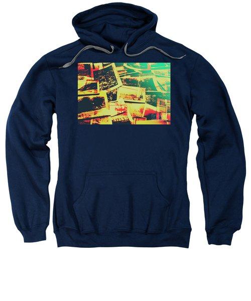 Creative Retro Film Photography Background Sweatshirt