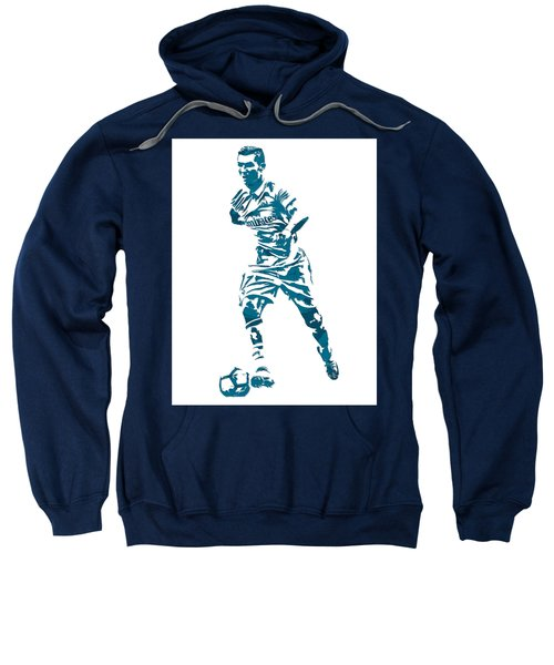 Cristiano Ronaldo Real Madrid Pixel Art 3 Sweatshirt