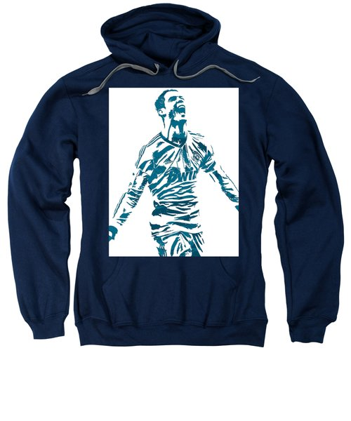Cristiano Ronaldo Real Madrid Pixel Art 4 Sweatshirt