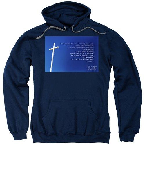 Cross With Blue Sky Sweatshirt