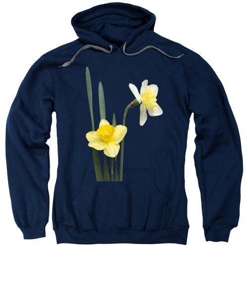 Daffodil Pair - Transparent Sweatshirt