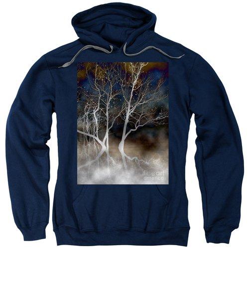 Dancing Tree Altered Sweatshirt
