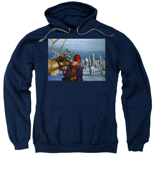Deer Friends Of Finland Sweatshirt
