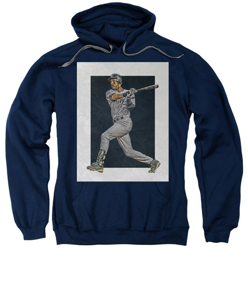 Derek Jeter New York Yankees Art 2 Sweatshirt