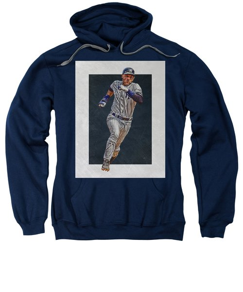 Derek Jeter New York Yankees Art 3 Sweatshirt