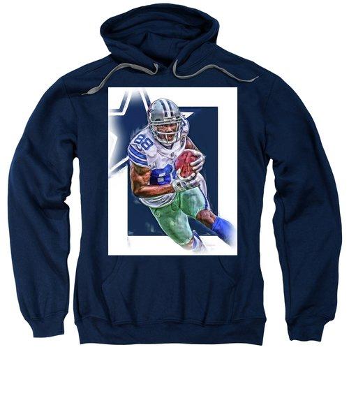 Dez Bryant Dallas Cowboys Oil Art Sweatshirt