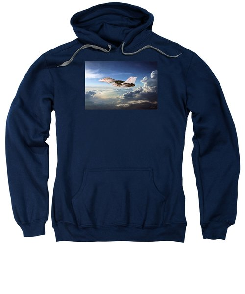 Diamonds In The Sky Sweatshirt by Peter Chilelli