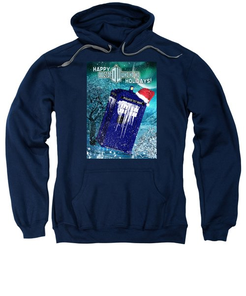 Doctor Who Tardis Holiday Card Sweatshirt