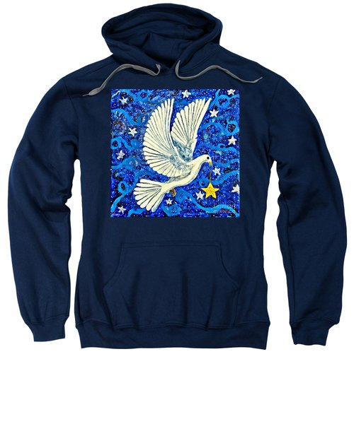 Dove With Star Sweatshirt