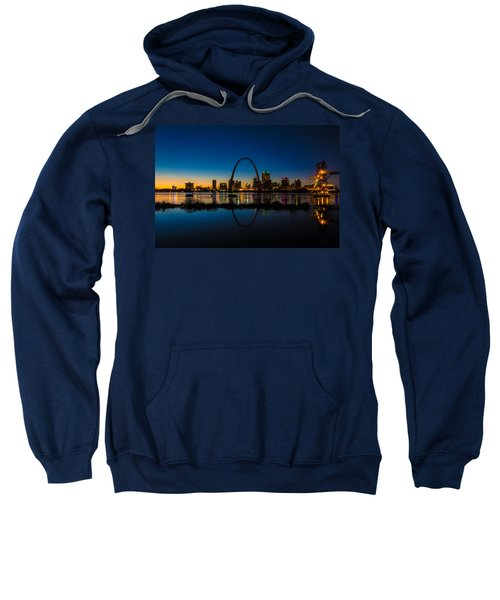 Downtown St. Louis And The Gateway Arch Sweatshirt