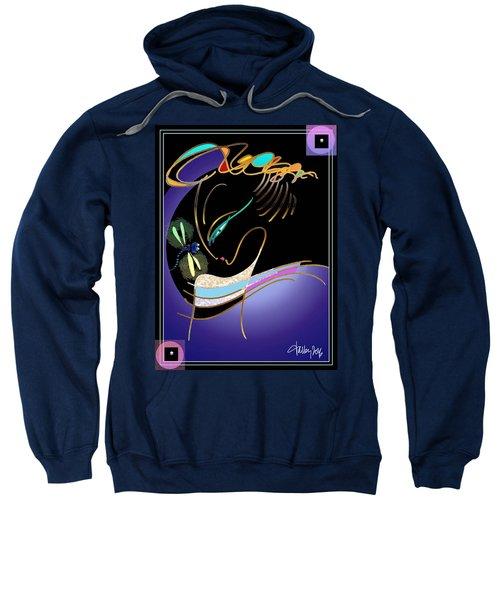 Dragonfly Messenger Sweatshirt