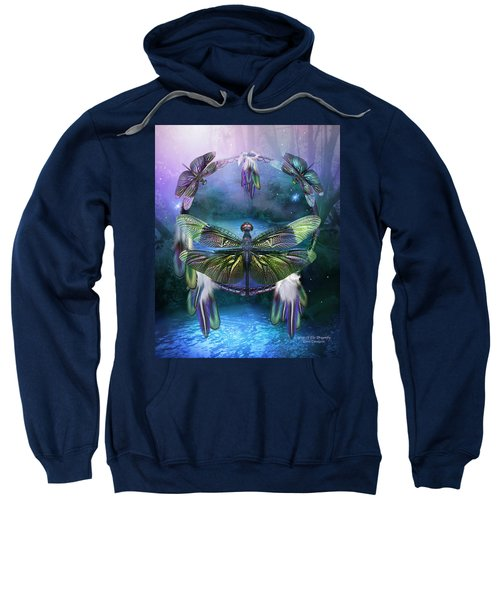 Dream Catcher - Spirit Of The Dragonfly Sweatshirt