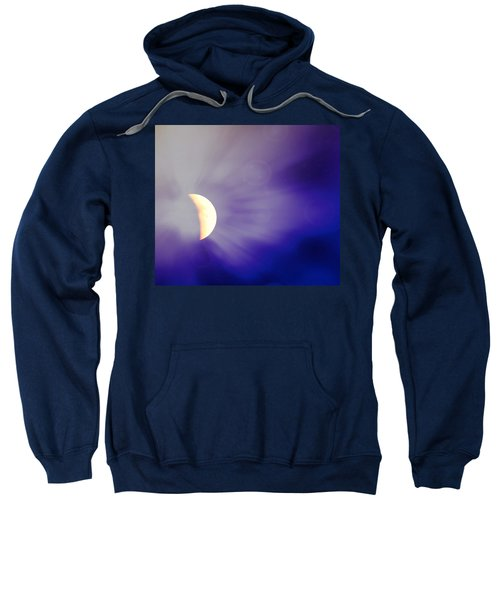 Aries Moon During The Total Lunar Eclipse 3 Sweatshirt