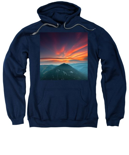 Sweatshirt featuring the photograph Eagle Eye by Evgeni Dinev