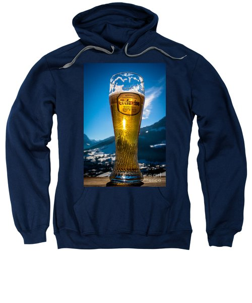 Edelweiss Beer In Kirchberg Austria Sweatshirt