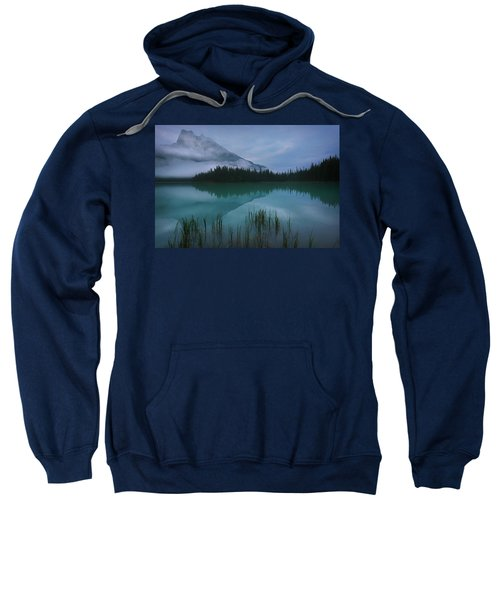 Emerald Lake Before Sunrise Sweatshirt